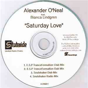 Alexander O'Neal Feat. Bianca Lindgren - Saturday Love (Remixes) download free