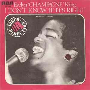 "Evelyn ""Champagne"" King - I Don't Know If It's Right = No Sé Si Está Bien download free"