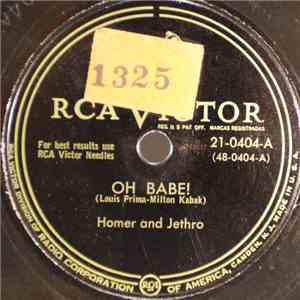 Homer And Jethro - Oh Babe! / Disc Jockey's Nightmare download free