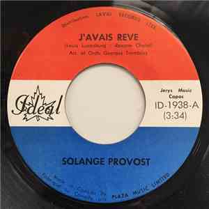 Solange Provost - J'avais Rêvé download free